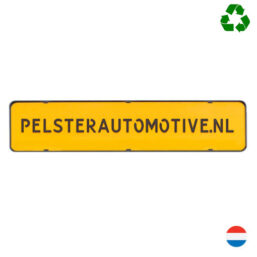 Kentekenplaathouder PZ zonder tekstrand serie 2 van Pelster Automotive