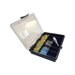 anti-diefstal schroevenset voor kentekenplaten van Pelster Automotive