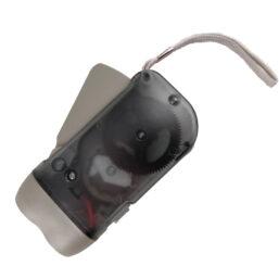 knijpkat zaklamp is handmatig oplaadbaar en heeft 0 lumen lichtopbrengst inclusief 3 LED's