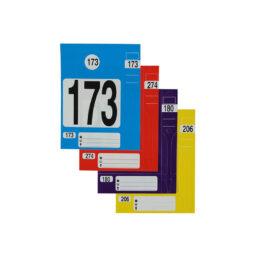 label pakket voor sleutels, binnenspiegels, werkorder mappen van pelster automotive