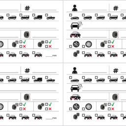 bandenopslaglabel kaartjes los te bestellen vanaf 100 stuks bij pelster automotive