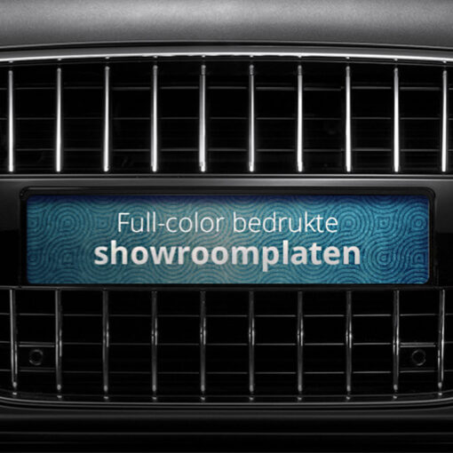 showroom platen inlegborden van pelster automotive
