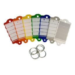 sleutellabel met sleutelring in meerdere kleuren van Pelster Automotive