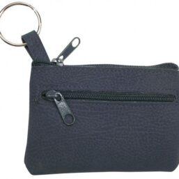 sleuteltasje alcantara voor het opbergen van muntjes of sleutels aan je sleutelbos