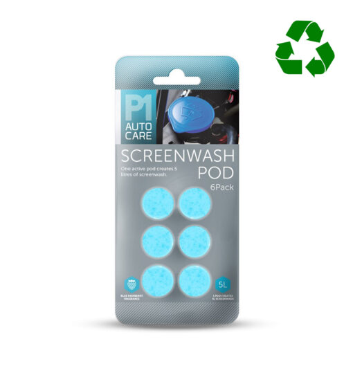 Screenwash pods duurzaam van Pelster Automotive