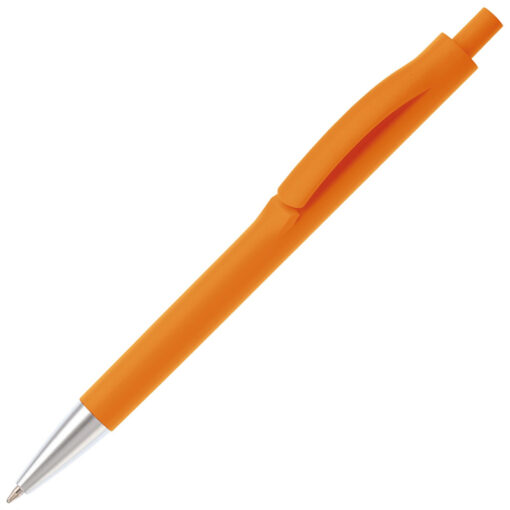 moderne oranje balpen click relatiegeschenk pelster automotive