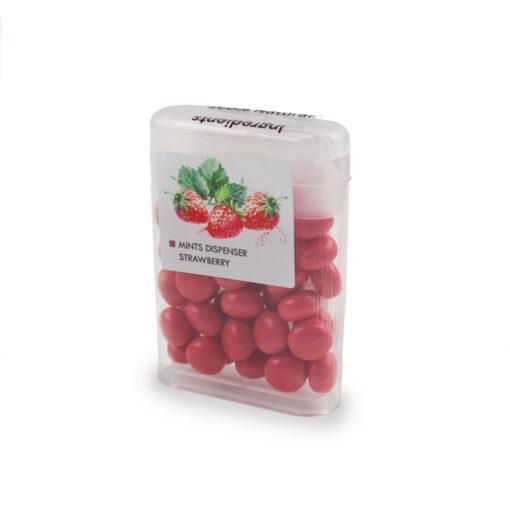 Mintjes met fruitsmaak aardbei