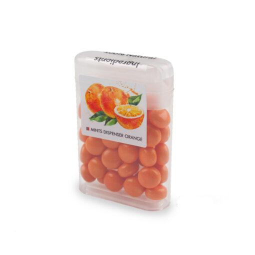 Mintjes met fruitsmaak sinaasappel