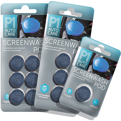 Screenwash pods Pelster Automotive