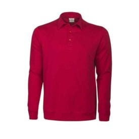 Heren polo sweater met logo bedrukken | Pelster Automotive