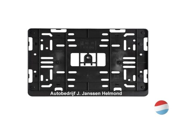 4x4 kentekenplaathouder met bedrukking | Pelster Automotive