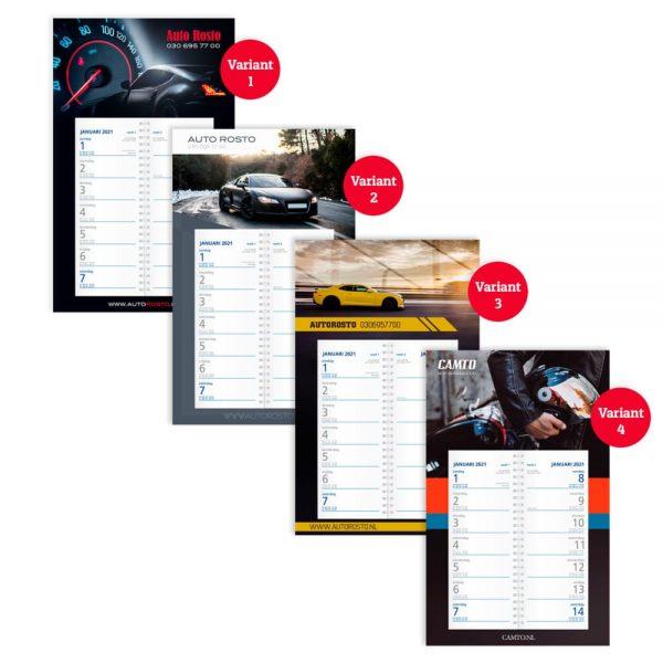 Kalenders 2022 met eigen ontwerp voor jouw bedrijf   Pelster Automotive