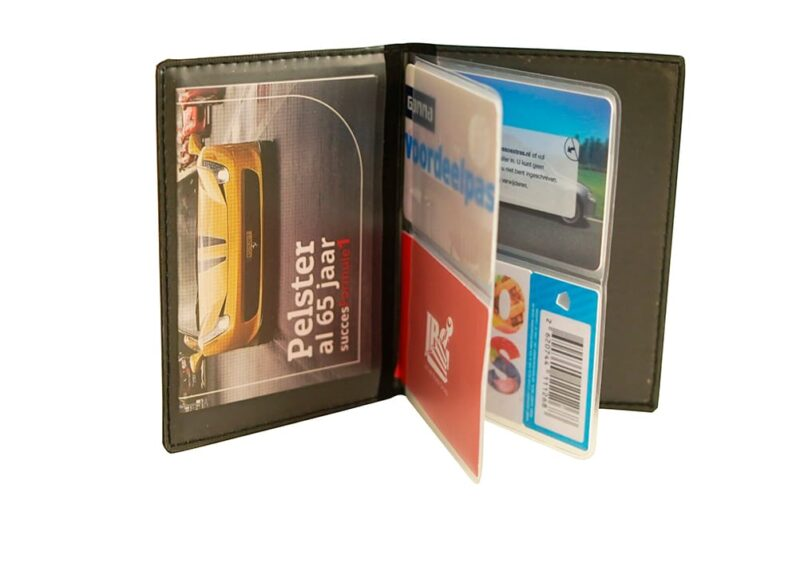 Kentekenmapje creditcard met bedrukking   Pelster Automotive