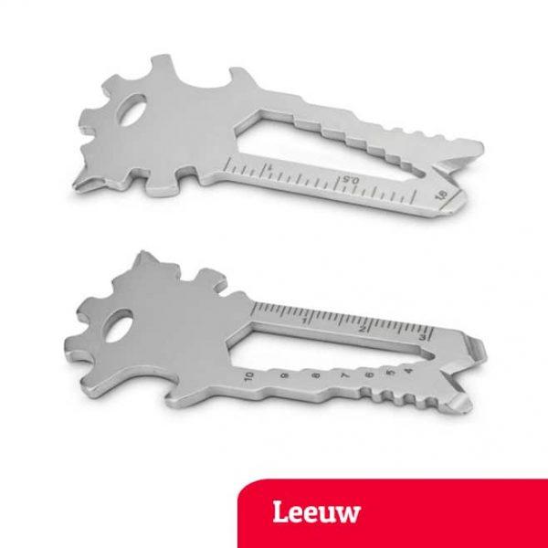 Leeuw multi-tool sleutelhanger