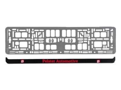Losse PS strip voor de PP kentekenplaathouder   Pelster Automotive