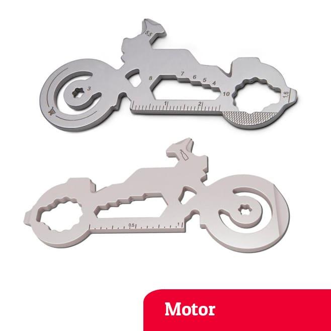 Motor multi-tool sleutelhanger