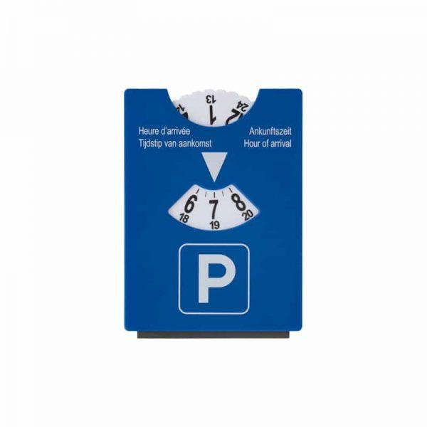 Parkeerschijf ijskrabber met full-color bedrukking | Pelster Automotive