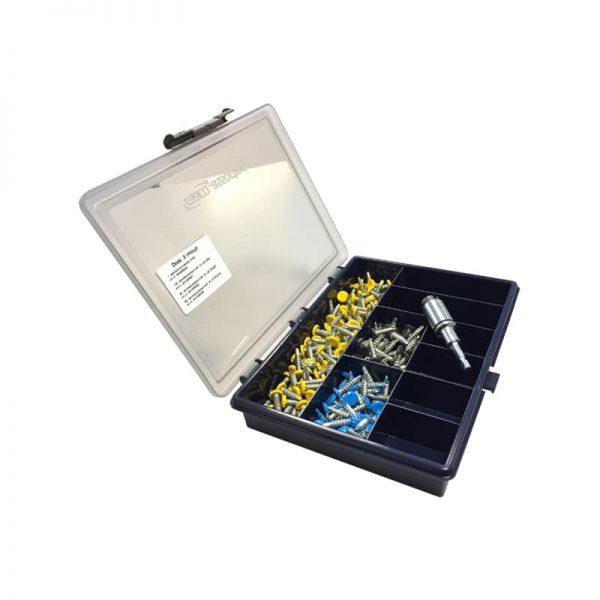 Anti-diefstal schroevenset tegen kentekenplaatdiefstal | Pelster Automotive