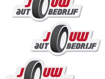 Doming sticker met bedrukking en eigen vorm | Pelster Automotive