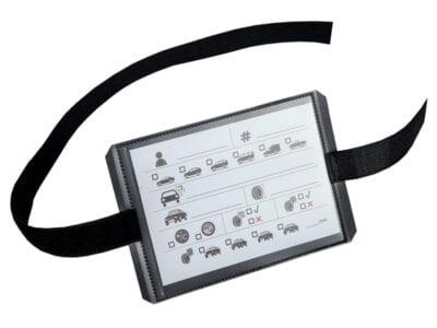 Bandenlabel met klittenband voor opslagbanden | Pelster Automotive