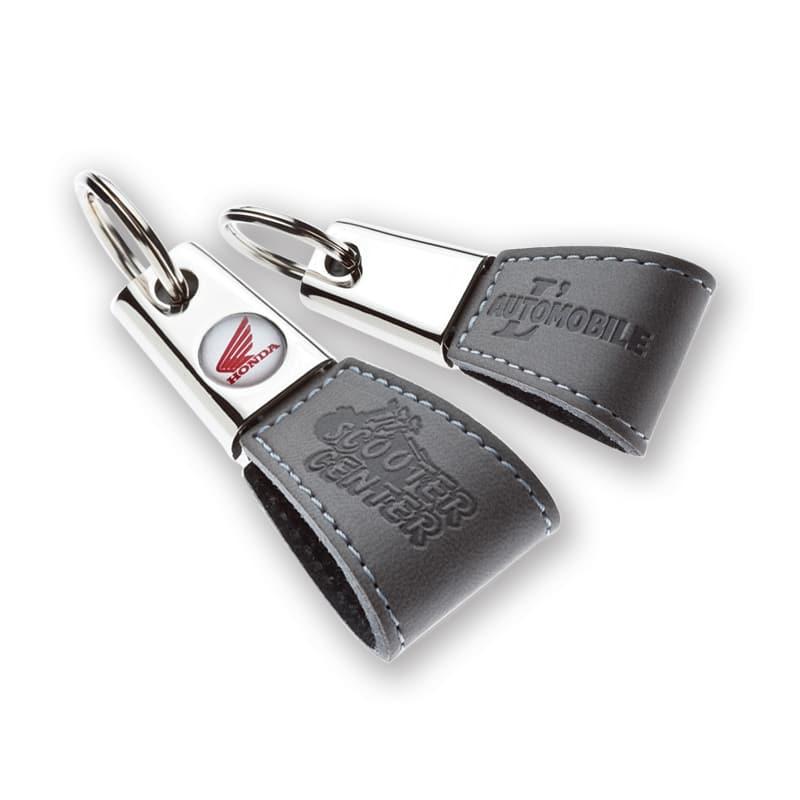 Kleine sleutelhanger Triangle met blinddruk | Pelster Automotive