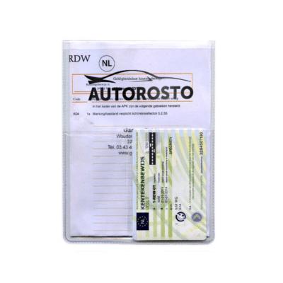 U-mapje met extra creditcard-vakje met bedrukking | Pelster Automotive