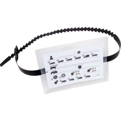 Bandenlabel T-rib voor opslagbanden | Pelster Automotive
