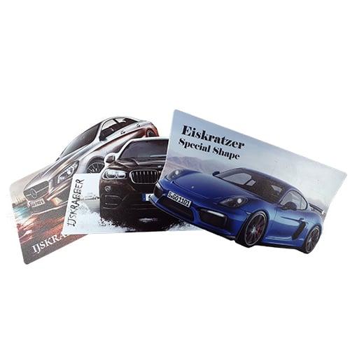 IJskrabber in eigen vorm full-color bedrukken | Pelster Automotive