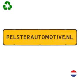 Kentekenplaathouder PZ serie 1 - zonder tekstrand l Pelster Automotive
