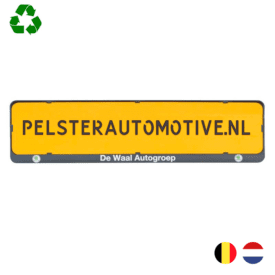Kentekenplaathouder PZ serie 2 - met tekstrand l Pelster Automotive