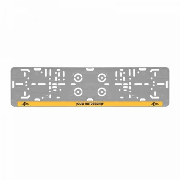 Kentekenplaathouder sticker | Pelster Automotive