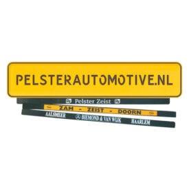 Pelster Plakstrip met bedrukking | Pelster Automotive