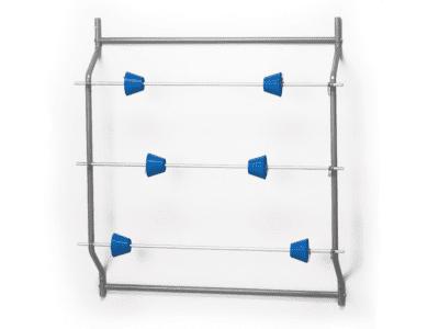 Rolhouder voor het ophangen van drie rollen | Pelster Automotive