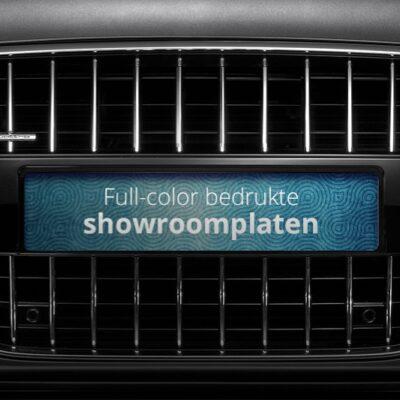 Showroom platen full-color met eigen ontwerp | Pelster Automotive