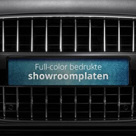 Showroom platen full-color met eigen ontwerp | Pelster Automotive