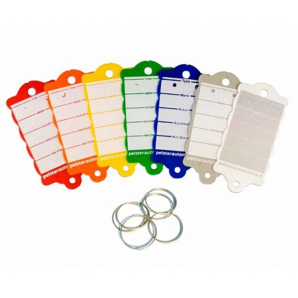 Sleutellabel ring voor voertuiginformatie | Pelster Automotive
