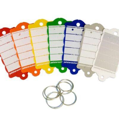 Sleutellabel ring voor voertuiginformatie   Pelster Automotive