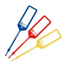 Sleutellabel Teslin stevig en beschrijfbaar met pen | Pelster Automotive