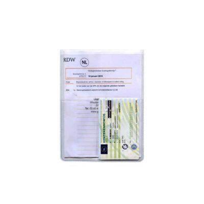 U-mapje met extra vakje voor een kentekencard | Pelster Automotive