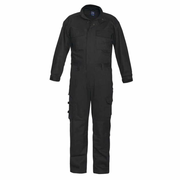 Zwarte comfortabele werk-overall voor in de werkplaats | Pelster Automotive
