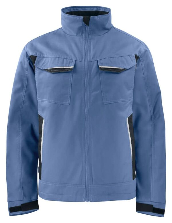 Blauwe heren gevoerde werkjas | Pelster Automotive