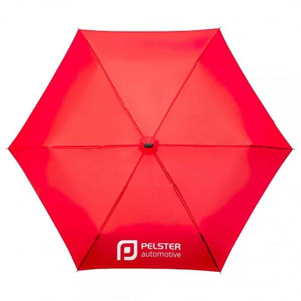 Opvouwbare MiniMax paraplu met bedrukking   Pelster Automotive