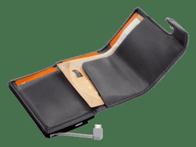 Powerbank portemonnee met bedrukking | Pelster Automotive