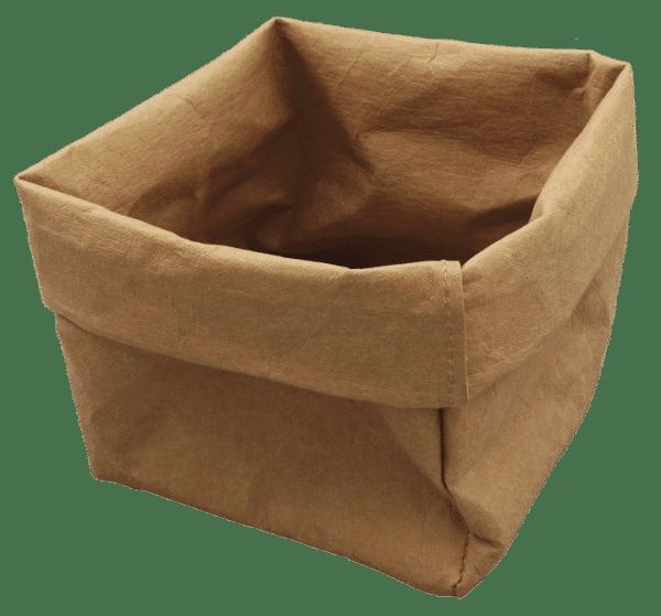 Duurzame waspapieren zak met bedrukking | Pelster Automotive
