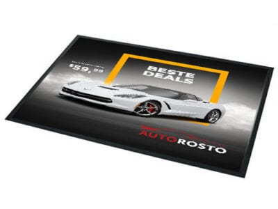 Showroom deurmat - rechthoekig l Pelster Automotive